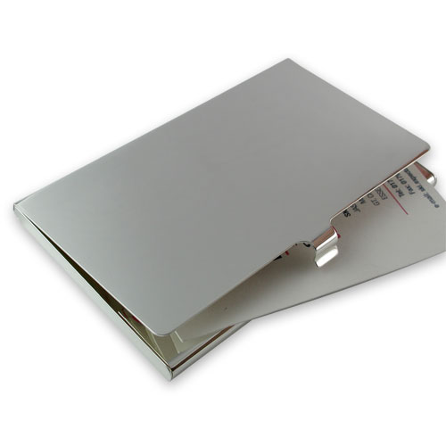Silver plated business/credit card case