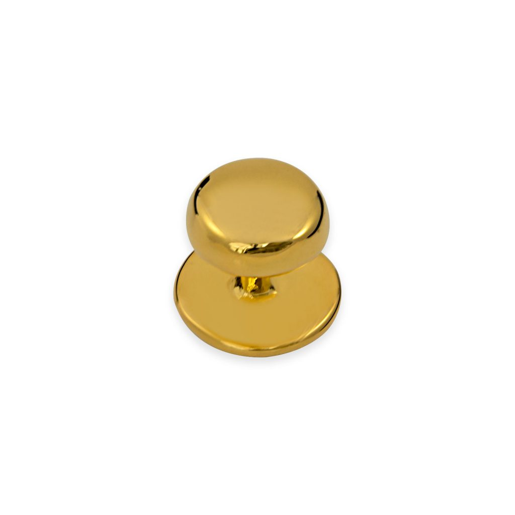 Gold Plated Shirt Studs Set of 4