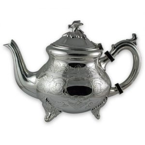 Silver plated Louise Philippe teapot