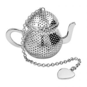 Silver Plated Tea Pot Infuser