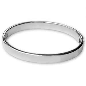 Sterling silver heavy bangle